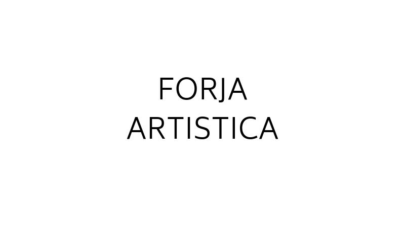 FORJA ARTISTICA - LOGO