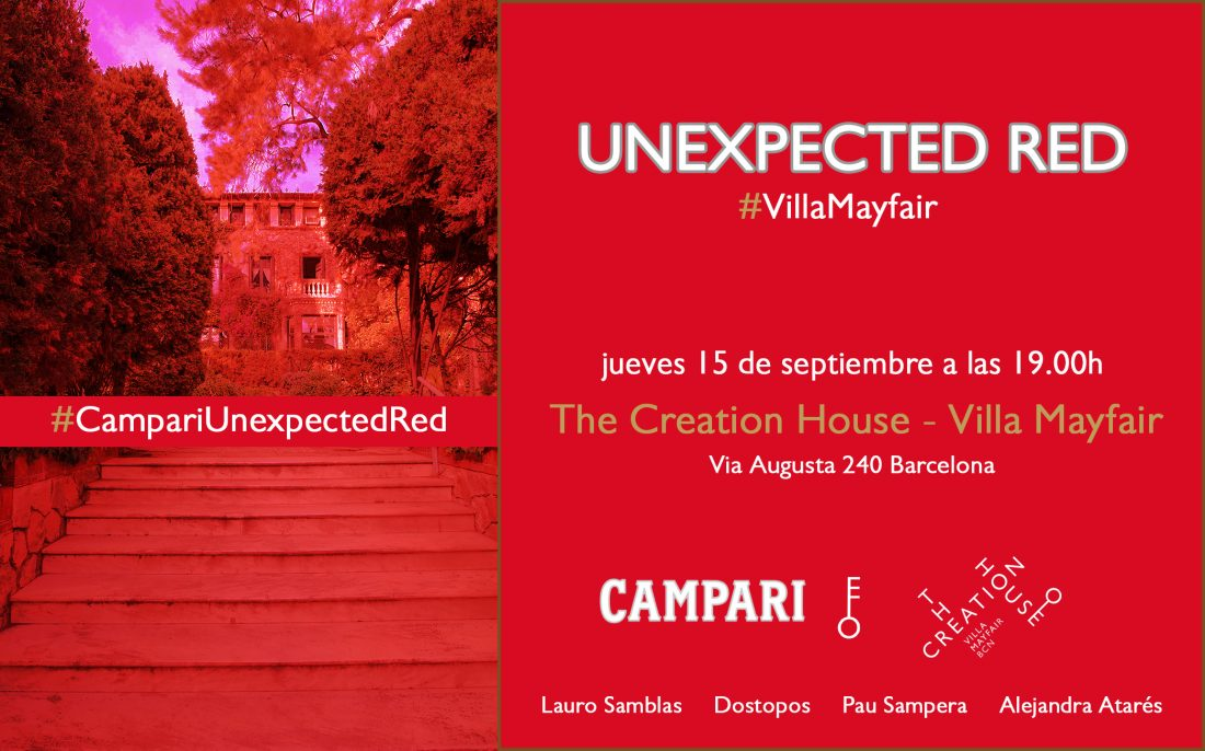 2016 09 15 CAMPARI UNEXPECTED RED